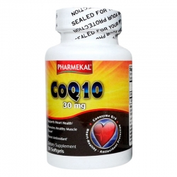 Tpbvsk tim mạch Pharmekal CoQ10, Hộp 30 viên