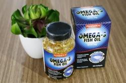 Tpbvsk dầu cá Pharmekal Omega 3 Fish Oil 1000mg, Chai 100 viên