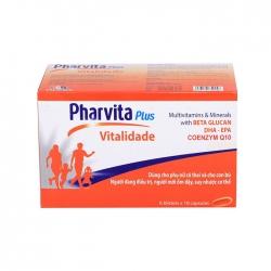 Tpbvsk Pharvita Plus Vitalidade, Hộp 60 viên