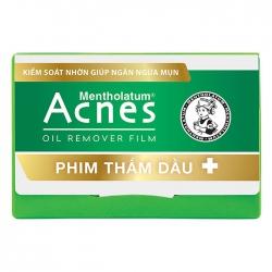 Phim thấm dầu Acnes Oil Remover Film, Gói 50 tờ