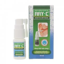 Phun sương vệ sinh tai RAY-C 10ml