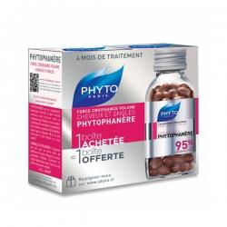 Phyto Paris Phytophanere hỗ trợ mọc tóc, giảm rụng tóc, Hộp 2 chai 120 viên