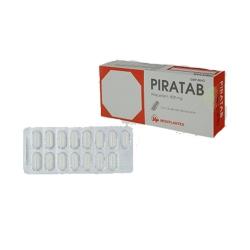 Piratab - Piracetam 800mg, Hộp 3 vỉ x 15 viên