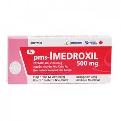 Thuốc kháng sinh Imexpharm Imedroxil 500mg, Hộp 12 viên