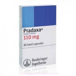 Thuốc tim mạch Pradaxa 110mg, Hộp 30 viên