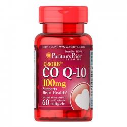 Viên uống hỗ trợ tim mạch Puritan's Pride CoQ10 100mg | Chai 60 viên
