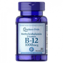 Puritan\'s Pride Methylcobalamin Vitamin B-12 1000 mcg
