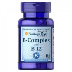 Puritan's Pride Vitamin B-Complex And Vitamin B-12