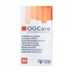 Que thử đường huyết OGCare, Hộp 50 que