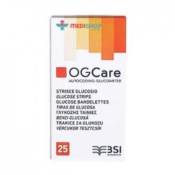 Que thử đường huyết OGCare Hộp 25 que