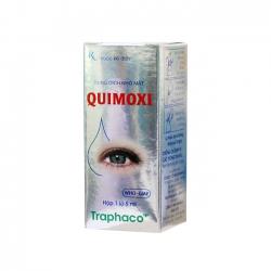 Thuốc nhỏ mắt Quimoxi, Hộp 5ml