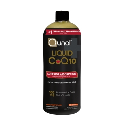 Nước uống bổ sung Qunol Liquid CoQ10 100mg, Chai 900ml