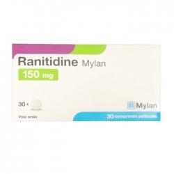 Ranitidine 150mg Mylan 3 vỉ x 10 viên
