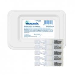 Thuốc dùng ngoài Restasis 0.05mg, Hộp 30 x 0,4ml