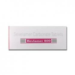 Thuốc thận Revlamer 800 Sevelamer Carbonate Tablets, Hộp 100 viên