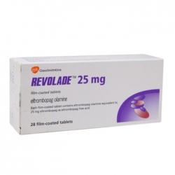 Thuốc Gsk Revolade 25mg, Hộp 14 viên