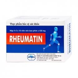 Rheumatin 430mg Upharce 4 vỉ x 10 viên - Viên uống bổ khớp