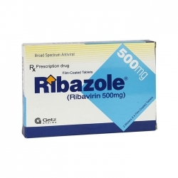 Thuốc Ribazole 500mg, Hộp 10 viên