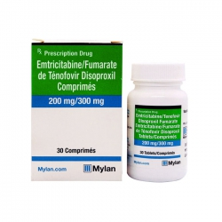 Mylan Emtricitabine 200mg Tenofovir Disoproxil fumarate 300mg ( Ricovir EM )