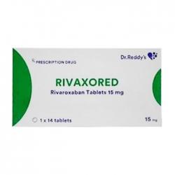 Rivaxored 15mg Dr. Reddy's 1 vỉ x 14 viên