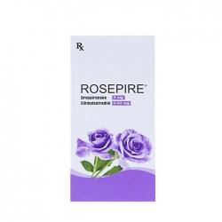 Thuốc ngừa thai Rosepire 0.02mg, Hộp 28 viên