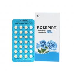 Thuốc tránh thai Rosepire 0.03mg, Hộp 28 viên