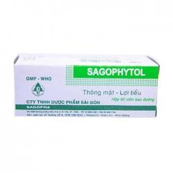 Sagopha Sagophytol giúp thông mật, lợi tiểu, nhuận trường