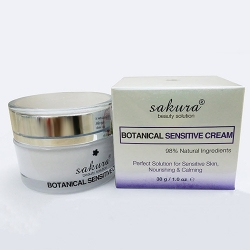 Kem dưỡng da nhạy cảm Sakura Botanical Sensitive Cream 30g