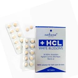 Viên uống Sakura HCL Whitening Blossom giảm nám trắng da
