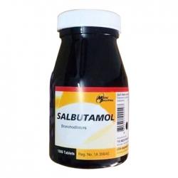 Salbutamol 2mg Medicpharma, Chai 1000 Viên