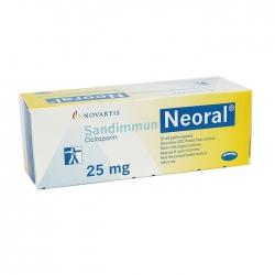 Thuốc ung thư Sandimmun Neoral 25mg, Chai 50 viên