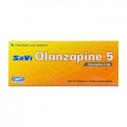 Savi Olanzapine 5 Savipharm 3 vỉ x 10 viên