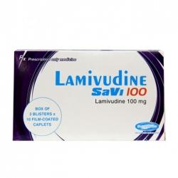 SaviPharm Lamivudine Savi 100mg, Hộp 30 viên