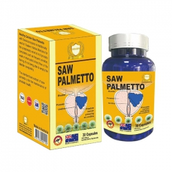 Saw Palmetto Healthy Golden 30 viên - Viên uống lợi tiểu