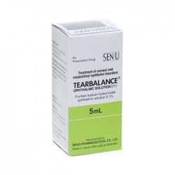 Thuốc dùng ngoài Tearbalance Ophthalmic solution 0,1%, Hộp 5ml