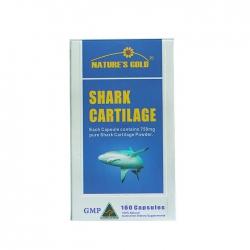 Tpbvsk Sụn cá mập Nature's Gold Shark Cartilage 750mg, Hộp 160 viên