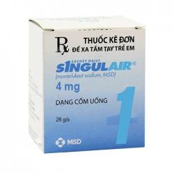 Thuốc cốm trị hen Singulair 4mg, Hộp 28 gói