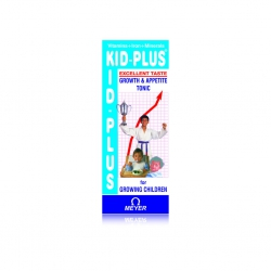 Siro ăn ngon Kid plus 100 Vitamin A, D3, E, Chai 100 ml