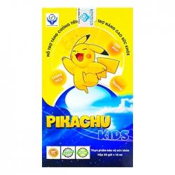 Siro ăn ngon Pikachu Kids Hộp 20 gói x 10ml