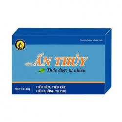 Siro Ấn Thủy giúp giảm triệu chứng tiểu dầm, tiểu buốt, Hộp 20 ống