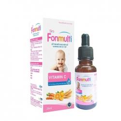 Siro bổ sung vitamin Lafon Fonmulti 20ml