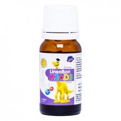 Siro bổ sung Vitamin tăng chiều cao cho bé Lineabon K2+D3 Ergopharm 10ml