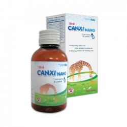 Siro Canxi Nano bổ sung Canxi và Vitamin