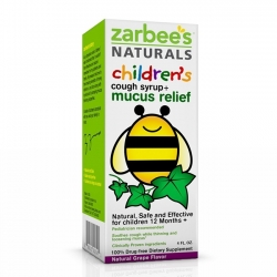 Siro ho Zarbee's Naturals Chidren's Cough Syrup + Mucus Reducer Cho bé 12 tháng tuổi.