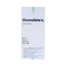 Siro hướng thần Gamalate B6 Solution, Hộp 1 lọ 80ml