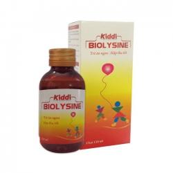 Siro Kiddi Biolysine kích thích ăn ngon tăng cường sức khỏe