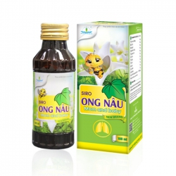 Siro Ong Nâu Mom and Baby, Hộp 100ml