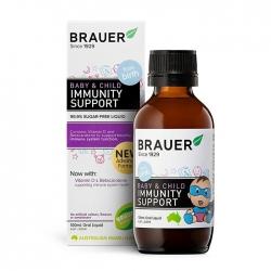 Siro tăng đề kháng Brauer Baby and Child Immunity Support 100ml