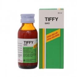 Siro trị cảm cúm, hạ sốt Tiffy 30ml