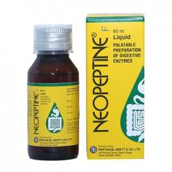 Siro trị đầy hơi, khó tiêu Neopeptin F Liquid, Chai 60ml